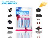 4 stilo Grundig alcaline AA LR6 1.5V 2100 MAH elettronica accessori audio video super sconti supersconti