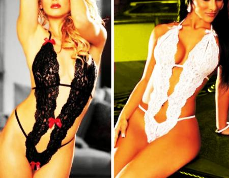 Body pizzo flower Duhna  eros super sconti supersconti