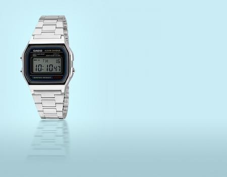 Orologio Casio mod. 158 Silver fashion orologi super sconti supersconti