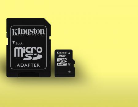 Kingston Micro Secure Digital 4096 MB HC e adapter elettronica accessori audio video super sconti supersconti