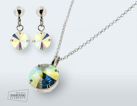paroure orecchini pendenti swarovski elements fashion super sconti supersconti