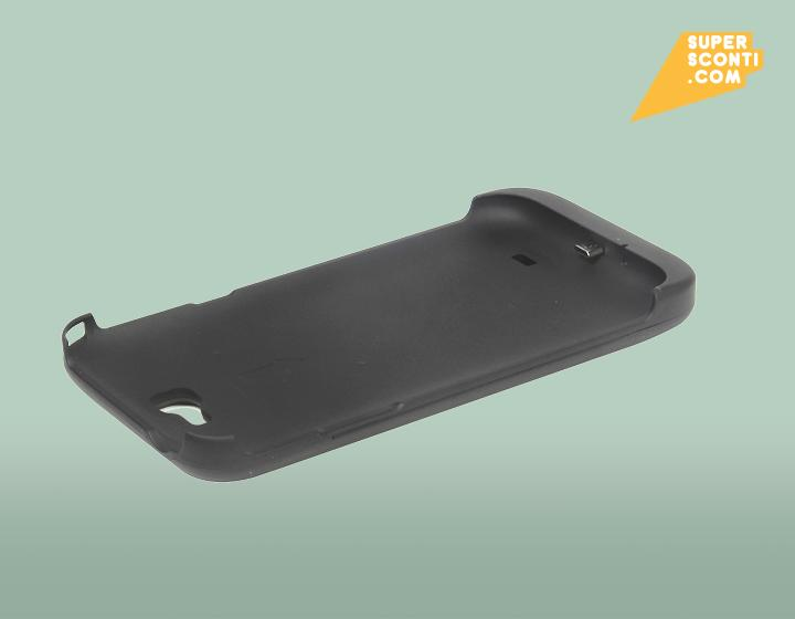 Cover battery per Samsung Galaxy Note 2 4200 mah supersconti super sconti elettronica