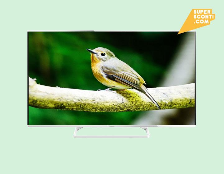 PANASONIC TX-40AS640E LED SMART TV 3D 1200Hz WIFI supersconti super sconti elettrodomestici