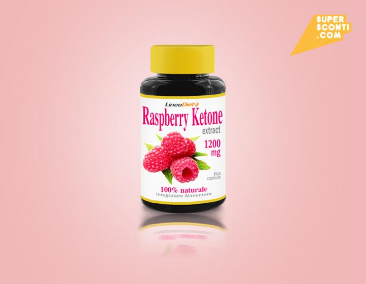 Disgregatore di grassi Raspberry Ketone 600mg food super sconti supersconti