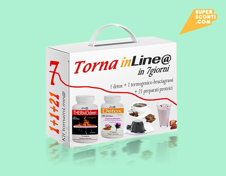 Kit Tornainlinea in 7giorni food super sconti supersconti