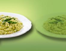 Risotto iperproteico agli asparagi food super sconti supersconti