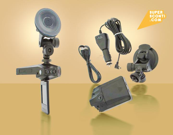 telecamera videoregistratore supersconti super sconti elettronica accessori auto e moto